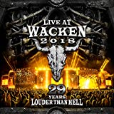 Live at Wacken 2018:29 Years Louder Than Hell [4 DVDs]