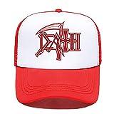 Cap Death Hoodies Heavy Metal Baseball Cap Damen Herren Unisex Sommer Eltern-Kind Hüte Mesh Visier Outdoor Sonnenhut