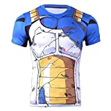 CoolChange Vegeta Cosplay T-Shirt   Kostüm für Dragon Ball Fans   Größe: M