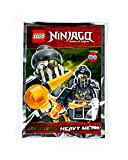 LEGO Ninjago Figur Heavy Metal (Faith Verkleidet) mit Turbo-Zange