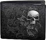 Spiral - Skull Scroll - Brieftasche - zweifach faltbar - mit RFID-Blocker und Geschenkbox